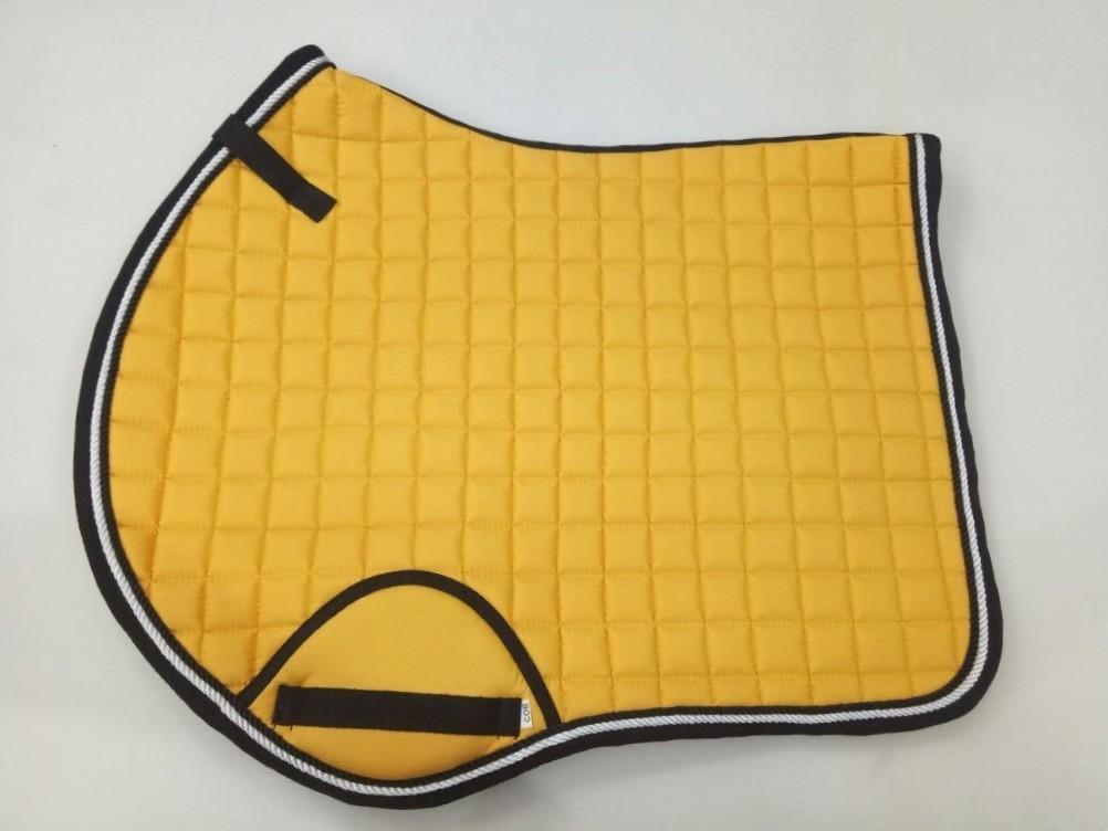 Pinnacle CC Saddle Pad - Yellow & Black