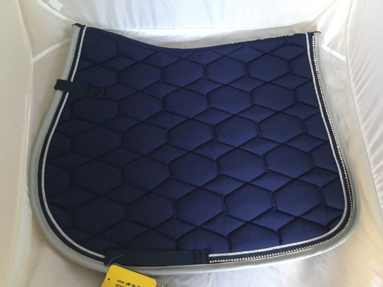 HKM Crystal GP Saddle Pad - Navy