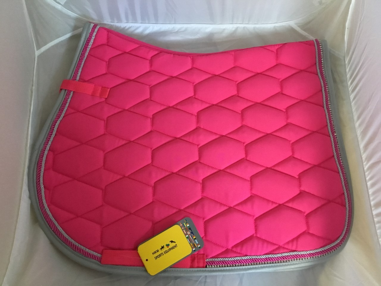 HKM Crystal GP Saddle Pad - Pink