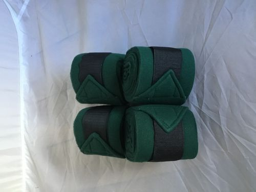 Pinnacle Fleece Bandages - Forest Green