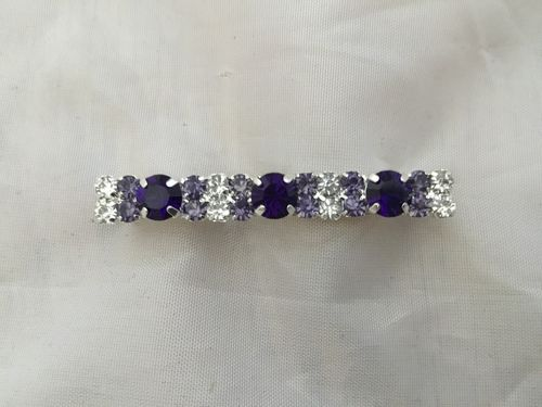 Pinnacle Purple Swarovski Stock Pin
