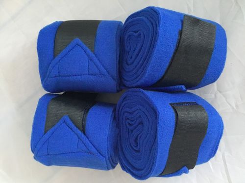 Pinnacle Fleece Bandages - Royal Blue
