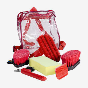 Horze Grooming Set - 3 Colours