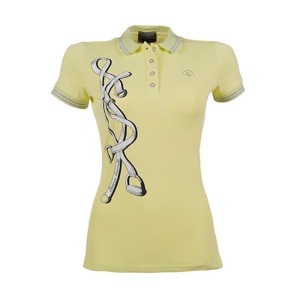 "HKM Lauria Garelli ""Limoni"" Polo Shirt - Lemon/Yellow"