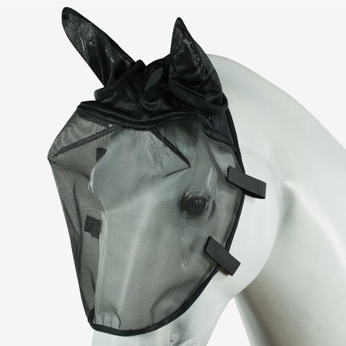 Fly Mask for the Bridle - Black